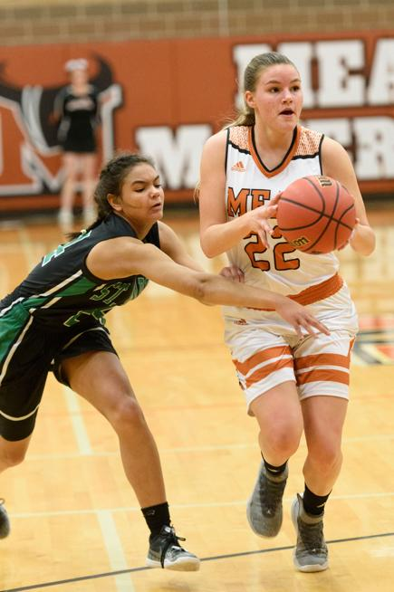 Girls basketball: Injuries hurt Mead in loss against 3A